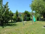 L aire de jeux des enfants