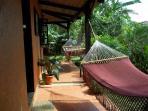 Front corridor with handmade hammocks