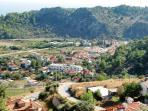 Sarigerme village from the hillside