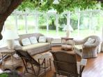 Conservatory off the dining room