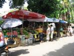 Sutivan fresh fruit & vegetable stall
