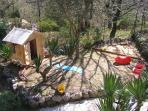 Wendy House and Sandpit