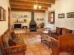 every apartment has it´s separate dining/living room with fireplace, TV, stereo, etc...