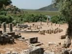 Spectacular views from the ancient city of Caunos a boat ride from Dalyan.