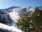 The Sierra Nevada. Ski centre within 2 hours drive.