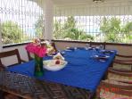 Breakfast with the seaview/garden