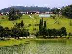 Granja Comary and lake! Apartment view!