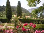The beautiful gardens of the Villa Rothschild on Cap Ferrat