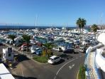 Marina - departure point for whale/dolphin boat trips and many watersports.