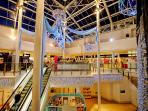 Crystal Peaks shopping centre just 5 mins walk