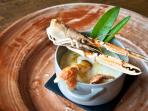 Perch Quenelles with Langoustines