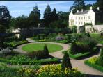 Aberglasney Gardens (5 mins away)