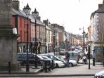 The town of Birr, Main Street from the Square