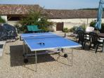 Table tennis or if you prefer Ping Pong