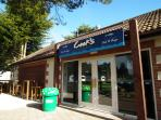 Cooks fish and chip shop in complex area