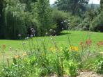 8 acres of gardens and meadow