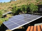 The Villa is Solar Powered in keeping with the Eco Friendly theme of the Island