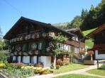 A typical Wengen house