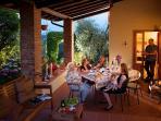 Casa Anita - the loggia
