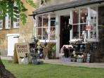 One of the small shops to browse in, Chipping Campden