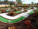 18 Hole Mini Golf Course At Solana Clubhouse