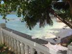 Small adjacent beach