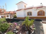 Front of Villa Zante