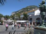 Gibraltar. Duty free shopping. Lovely new marina. market, live glass blowing in crystal shop