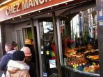 Your local boulangerie -- so good, there's sometimes a line out the door.