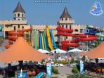 Water Park just outside Sunny Beach