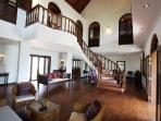 Stunning 750 sqm interior, floored in teak.