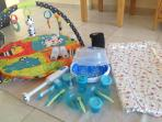 Lighten the load with the free essential baby pack
