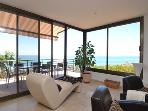 Panoramic sea views from Living room