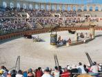 Enjoy a day or night show at Puy du Fou - a cast of 1000s