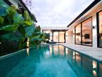 Villa/Pool Overview