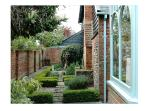 The garden courtyard - enjoyed from both 'The Cartlodge' and 'The Maltings' holi