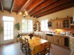 Spacious and full equipped main Kitchen