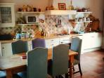 Large country kitchen-diner