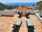 The sun terrace.