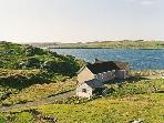 House overlooking sea loch