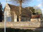 St Andrews Chuch is Directly Opposite The Cider House
