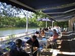 Restaurant at Beautiful Brossac Beach (15 mins)