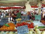 The market in Brionne