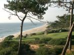 view from Vale do lobo golf club