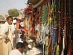 Bazaar in Mukam fair