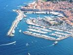 Enjoy our holiday activities: heliflight above the Bay of St Tropez - something for the whole family