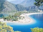 A wonderful lagoon near Dalaman