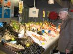 Get your fresh fish here!!