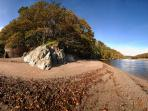 The Erme estuary at Mothecombe