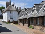 Holbeton village
